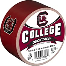 Duck Brand 240276 University of South Carolina College Logo Duct Tape, 1.88-Inch by 10 Yards, Single Roll