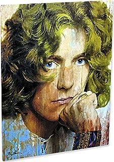 Robert Plant Led Zeppelin | Shear Power | Pop Art Giclee Metal Print by Mark Lewis
