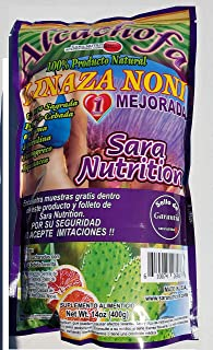 Alcachofa Linaza Noni Flax Seed Noni Sara Nutrition Colon Cleanse Weight Loss,More Eneregy,Psyllium Husk,Artichoke,Cascara...