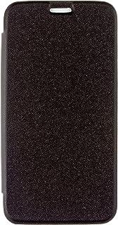 Caseit Slimline Folio Flip Plånbok Clip-On Skal med Skärmskydd för Samsung Galaxy Ace 4 - Svart, Samsung Galaxy S5 Mini, S...