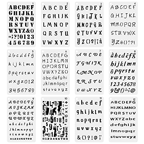 photo regarding Printable Font Stencils identified as Stencil Fonts: