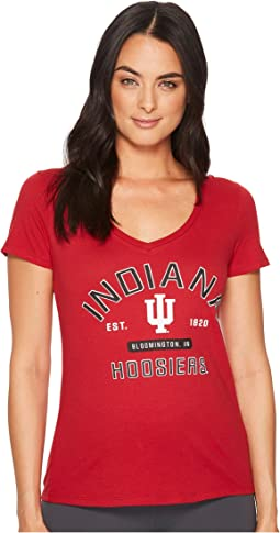 Indiana Hoosiers University V-Neck Tee