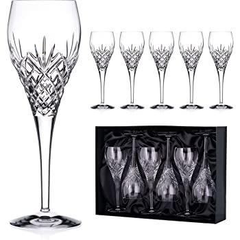 Royal Doulton Highclere Wine 340ml, Set of 4, Crystalline