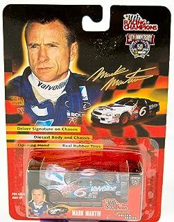 1998 - Racing Champions - NASCAR 50th Anniversary - Joe Nemechek - No. 42 Bell-South Chevrolet Monte Carlo - 1:64 Scale Die Cast Collectible Replica Car