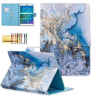 غطاء الكمبيوتر اللوحي الشامل Techcircle 8 بوصة، جراب واقٍ قلاب من الجلد الصناعي الملون، لجهاز Apple iPad Mini 5 7.9، Kindl...