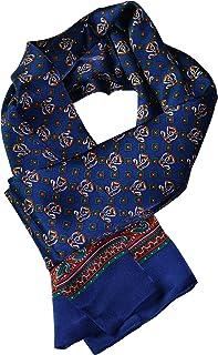 "YSSP, 63"" x 11"" Man's 100 Pure silk scarf wrap Accessory neckwear gift"