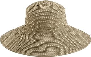San Diego Hat Company Women`s Ribbon Braid Hat With Five-Inch Brim