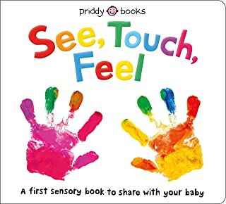 See, Touch, Feel: A First Sensory Book