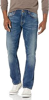 Nudie Unisex Grim Tim Indigo Feeling Jeans