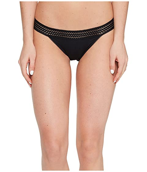 DKNY Intimates New Classic Cotton Lace Trim Thong at ...