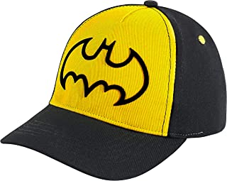 DC Comics Batman Cap with 3D Design Kids Baseball Hat for Toddler or Little Boys Ages 2-7