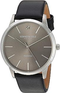 ساعة انالوج بحركة كوارتز يابانية للرجال من كينيث كول نيويورك - سوار من الجلد Kc15203002