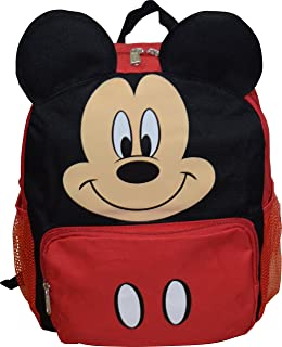 """Mickey Mouse Disney Big Face 14"""" School Backpack"""