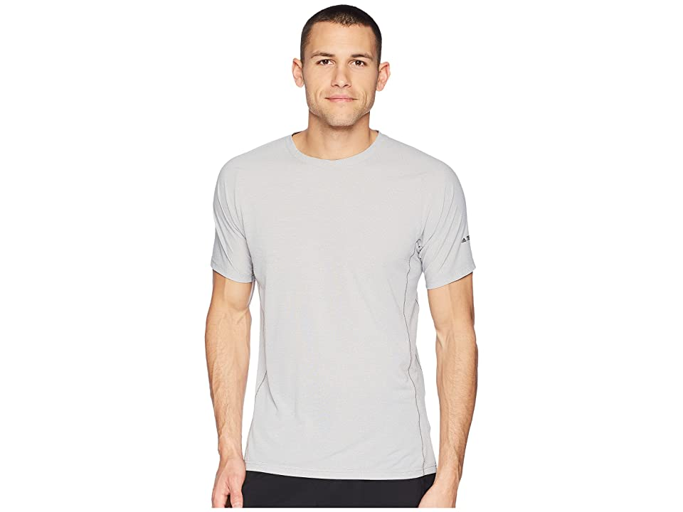 Image of adidas Outdoor Agravic Parley Tee (Grey Three) Men's T Shirt