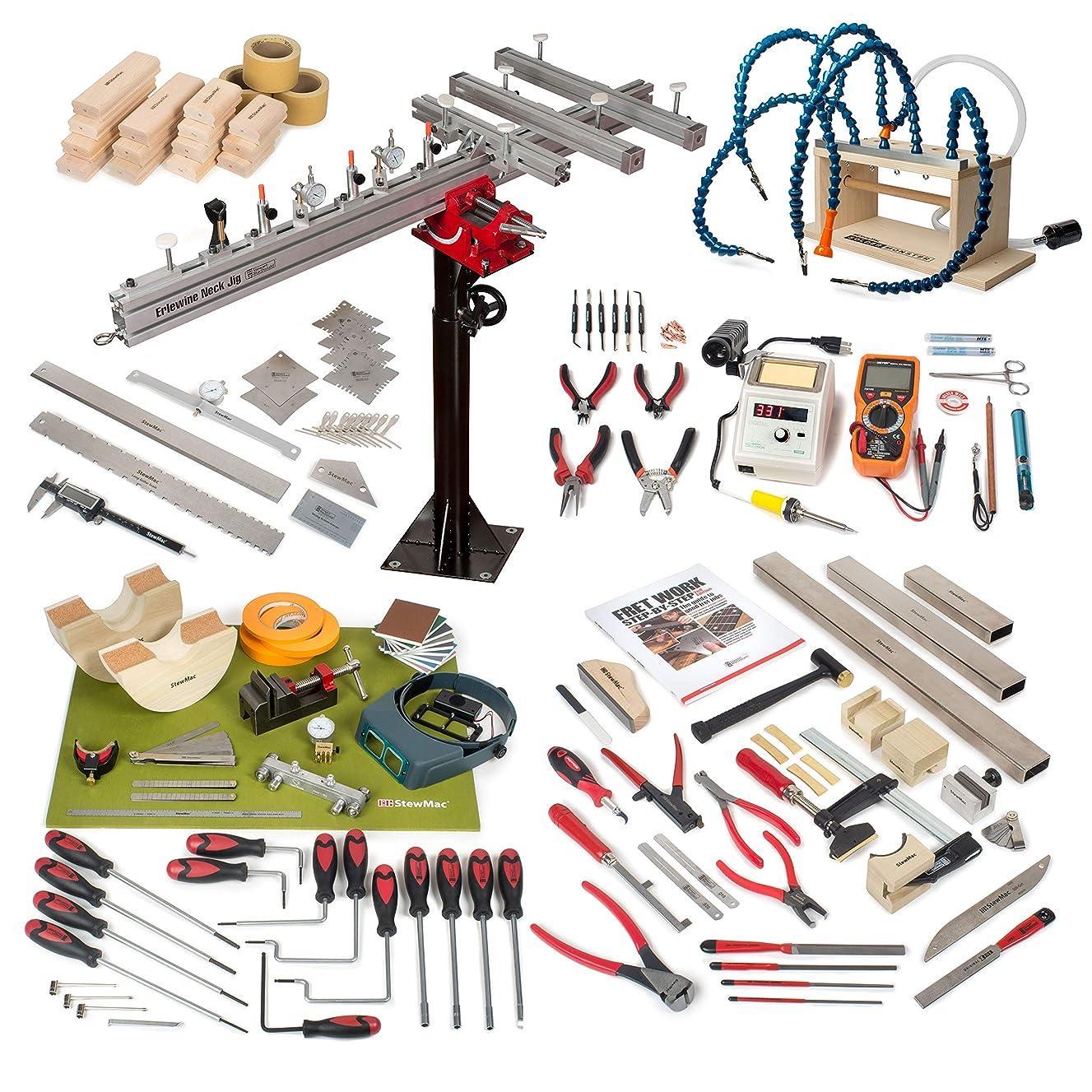 StewMac Guitar Shop Master Tool Set
