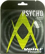 VOLKL V23622:SET Psycho Hybrid 16G Tennis String Black and Silver