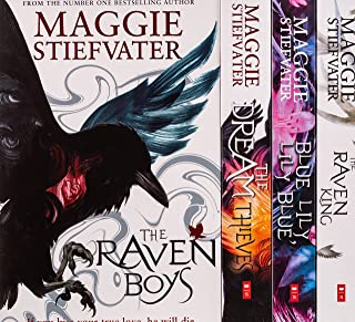 The Raven Cycle Series 4 Books Collection Box Set by Maggie Stiefvater (The Raven King, Blue Lily Lily Blue, The Dream Thi...