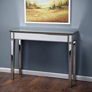 Christopher Knight Home Graham Mirror Console Table, Silver