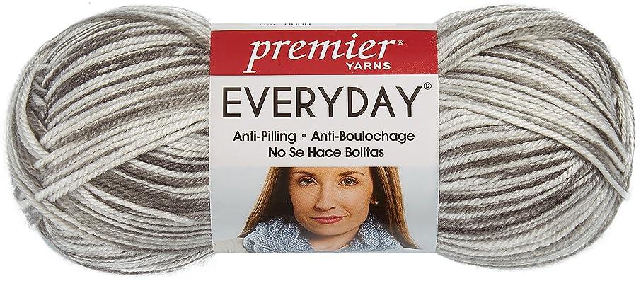 Premier Yarns 200-36 Everyday Print Yarn-Gray
