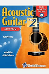 Acoustic Guitar Book 2: with Video & Audio Access Kindle Edition