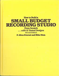 How to build a small budget recording studio from scratch-- with 12 tested designs