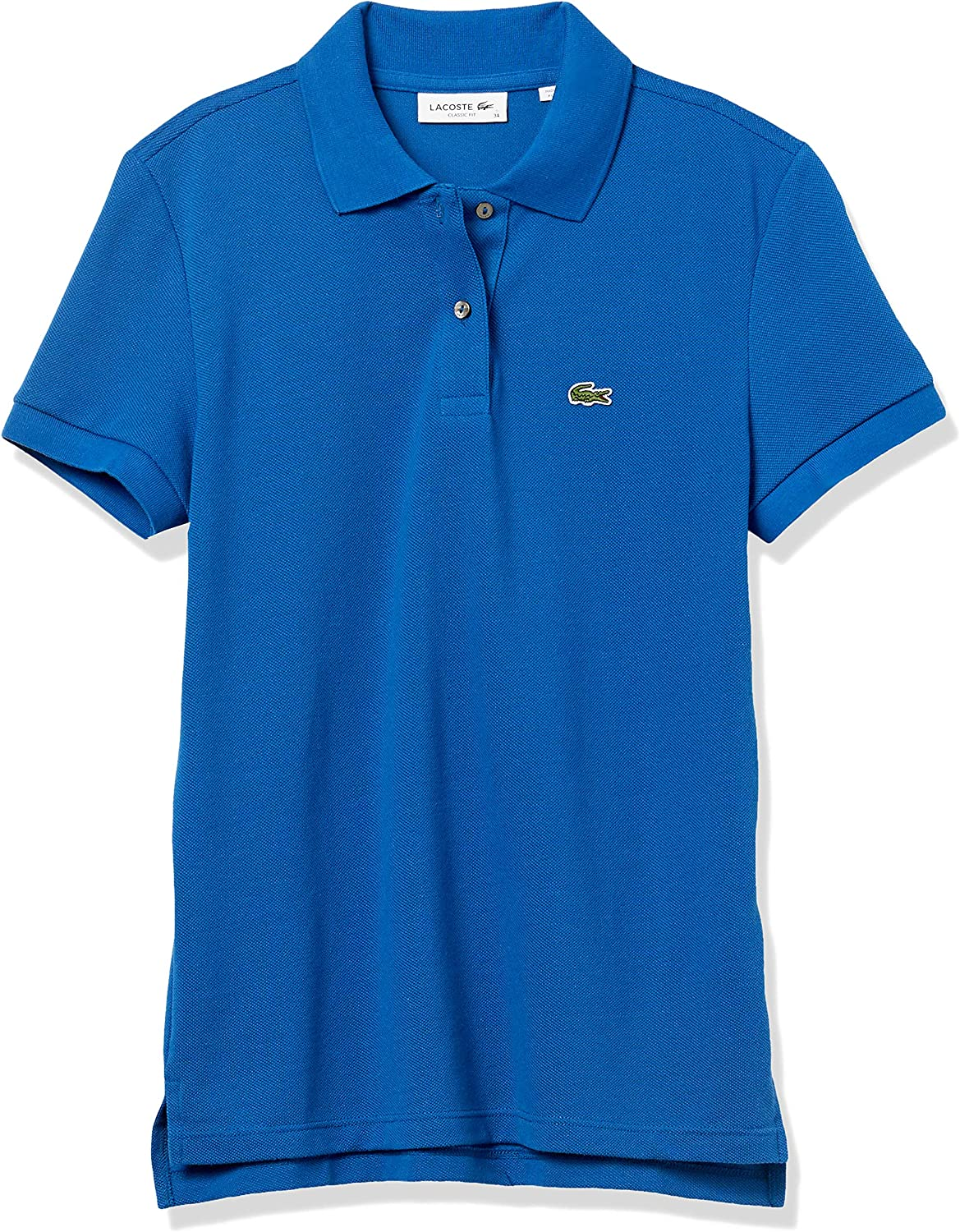 Lacoste Women's Legacy Short Sleeve Classic Fit Pique Polo