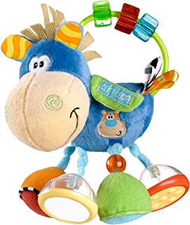 Playgro 0101145107 Toy box Clip Clop Activity Rattle for baby infant toddler children, Playgro is Encouraging Imagination with STEM/STEM for a bright future - Great start for a world of learning