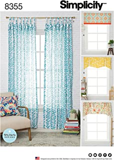Simplicity Creative Patterns US8355OS Sewing Pattern Home Décor, One Size