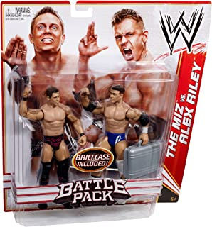 WWE Battle Pack: Alex Riley vs. The Miz Figure 2-Pack Series 13