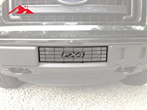 Mountains2Metal FX4 Lettering Bumper Grille Insert Compatible with Ford F-150 2009-2014 100-30-1 100-30-1