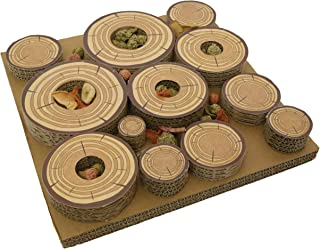 Rosewood 19264 Maze-A-Log Treat Challenge Toy for Small Animals 30cm x 30cm