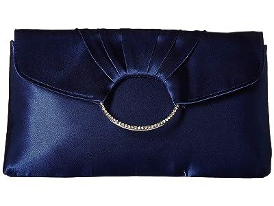 Jessica McClintock Scarlette Clutch (Navy) Clutch Handbags