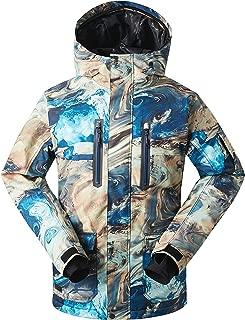 Men's Winter Coat Ski Jacket Windproof Waterproof for Winter Sports