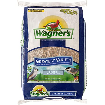 Wagner's 62059 Deluxe Wild Bird Food, 16-Pound Bag