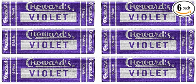 Violet Mints - Choward's (6 件装)