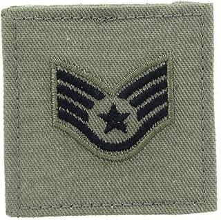 Sage Green AIR FORCE Rank Insignia - E-5 STAFF SERGEANT