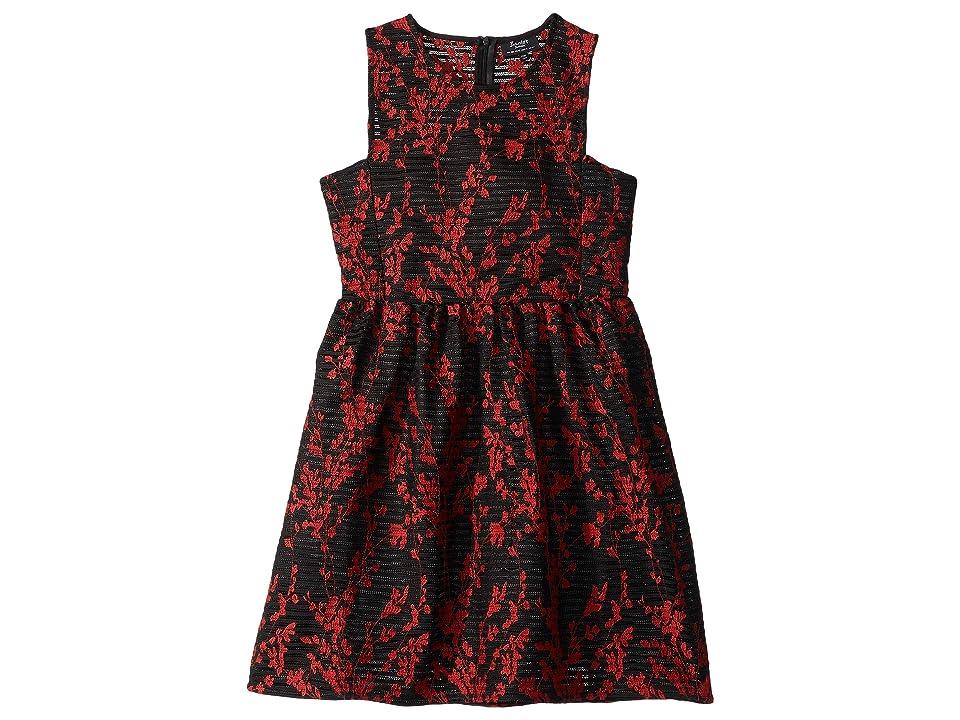 Bardot Junior Mercer Embroidered Dress (Big Kids) (Black) Girl