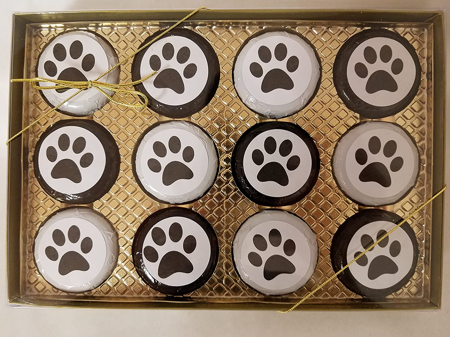 Chocolate Mail order Covered Cookie Ranking TOP13 12 pack Puppy Set Lover Dog Gift