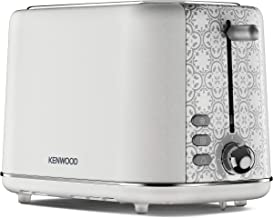 Kenwood TCP05.A0CR Abbey Cream design 2 slot toaster, 7 browning levels & defrost function, removable crump tray - Cream