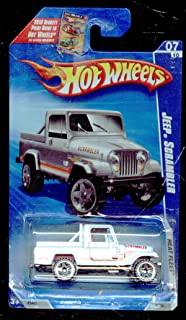 Hot Wheels 2009-123/190 Heat Fleet 07/10 Jeep Scrambler on Beckett Card 1:64 Scale