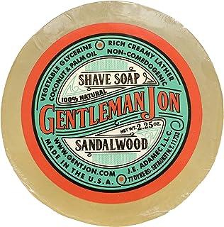 Best Gentleman Jon Sandalwood Shave Soap; Glycerine 2.25oz Review