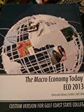 The Macro Economy Today ECO 2013 13th Edition