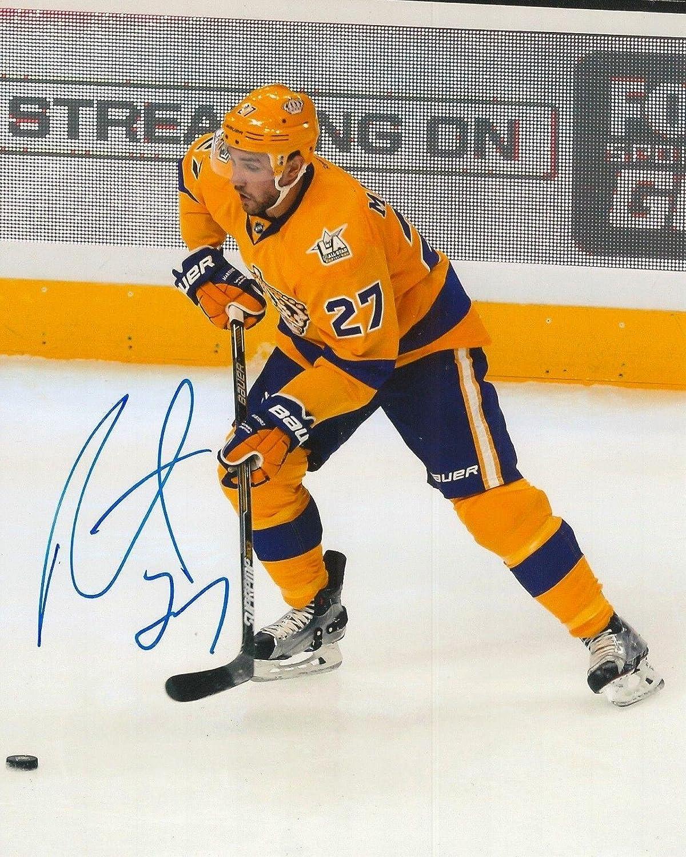 Autographed ALEC Martinez Picture  8X10 COA C  Autographed NHL Photos