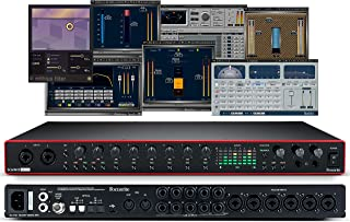 Focusrite Scarlett 18i20 (3rd Gen) USB Audio Interface plus Waves Musicians 2 and iZotope Mobius Filter Bundle