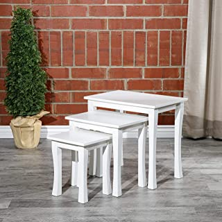 DTY Indoor Living Boulder 3-Piece Nesting Table Collection