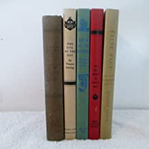 5 Book Set for juvenile reading #1 The Evil Of The Day by Sterling #2 False Face by Truss #3 The Big Money by Masur #4 Dea...