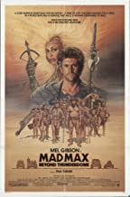 Mad Max Beyond ThunderDome 1985 Authentic 27