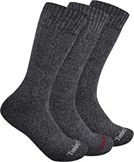 Timberland Women's 3-Pack Ribbed Marled Boot Socks