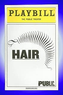 Hair, Off-Broadway Playbill + Will Swenson, Christopher J. Hanke, Bryce Ryness, Darius Nichols
