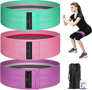 Home-Mart Resistance Bands Booty Bands Set,Premium Exercise Loops,3 Resistance Level Workout Booty Bands,Fitness Exercise ...